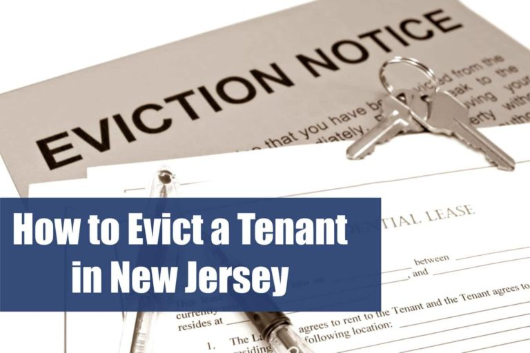 how to evict a tenant in new jersey