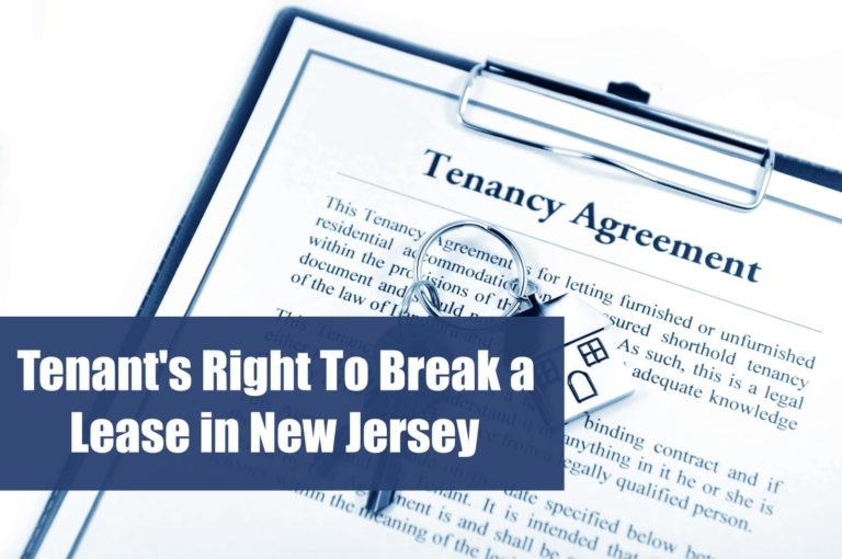 tenants right to break a lease in new jersey