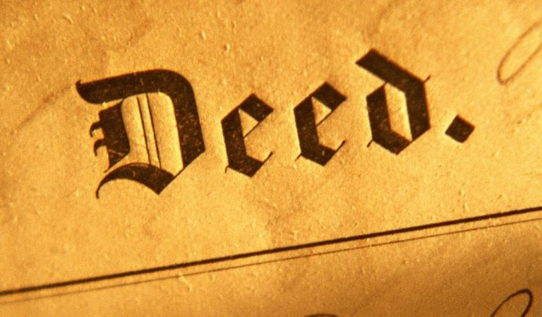 types of deeds and title covenants in new jersey